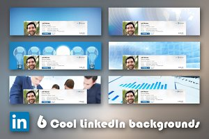 6 Cool business LinkedIn backgrounds