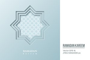 Ramadan Kareem octagon.