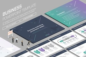 Business Powerpoint Template vol.19