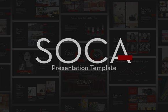 SOCA Powerpoint Template