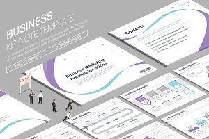 Business Keynote Template vol.14
