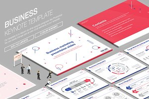 Business Keynote Template vol.15