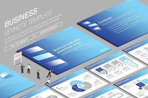 Business Keynote Template vol.16