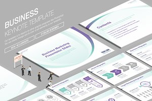 Business Keynote Template vol.17