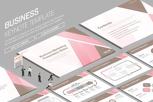 Business Keynote Template vol.18