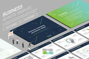 Business Keynote Template vol.19