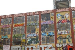 Graffiti at 5 points