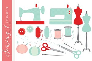 Sewing machine clip art clipart