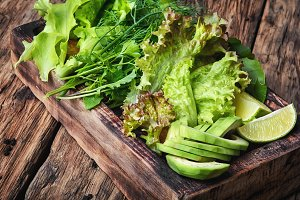 detox vegetable lettuce