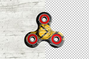 Fidget Spinner Mock-up