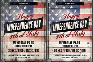 Independence Day Flyer Template