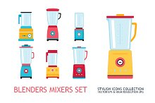 Blender Mixer Kitchen appliance set