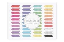 Arrows Banners - Grosgrain Stitch