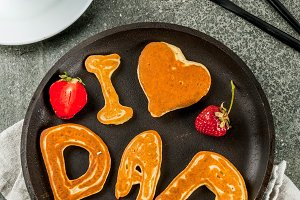Pancakes for Father's Day