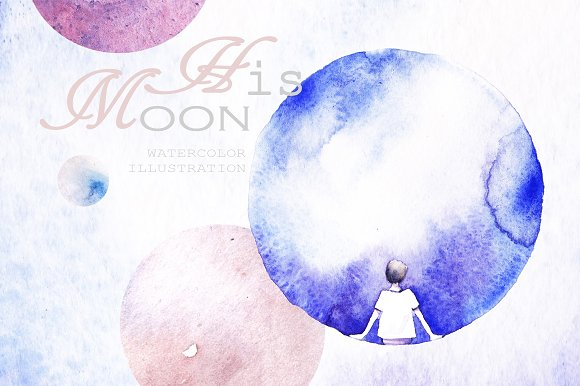 Two Moons in Illustrations - product preview 3