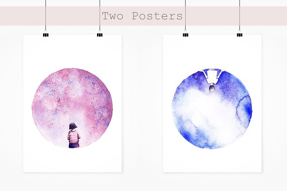 Two Moons in Illustrations - product preview 4