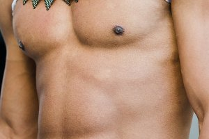 perfect muscular torso