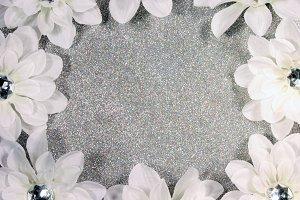 Glittery Daisies