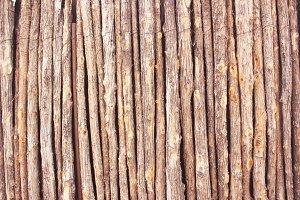 Natural Stick Fence I