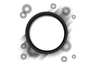 abstract circle blackground