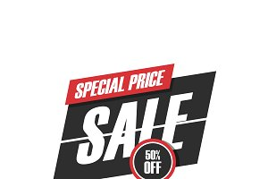 sale promotion sign
