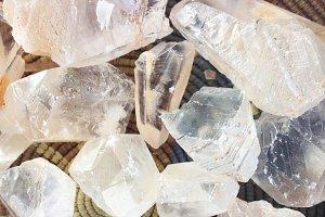 Basket of Crystals