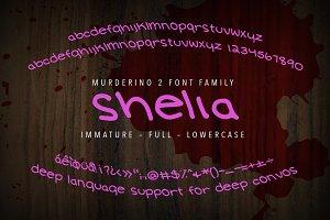 Murderino 2 Shelia Handwriting Font