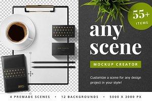 Any Scene Mockup Creator