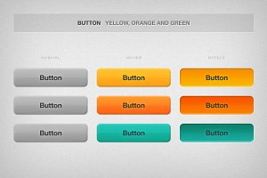 Shiny and Colorful Buttons