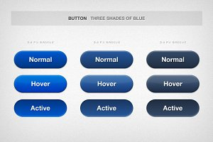 Rounded and Solid Buttons
