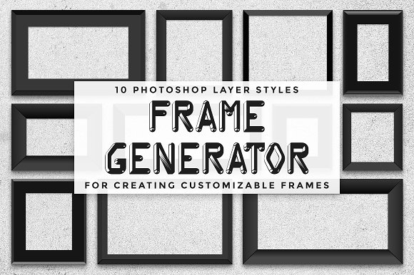 Frame Generator PS Layer Styles