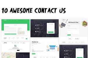 Ramro Web UI Kit - Contact us