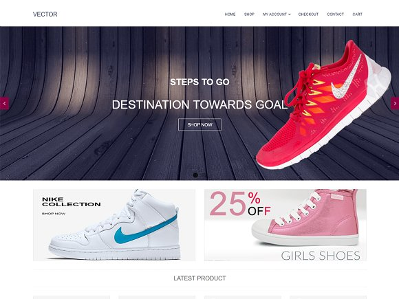 Vector Free WooCommerce Theme