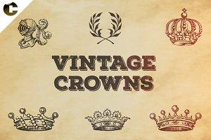 Vintage Crowns Symbols