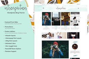 Introspection - Wordpress Blog Theme