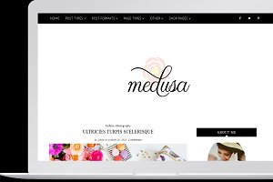 Medusa - Feminine WordPress Theme