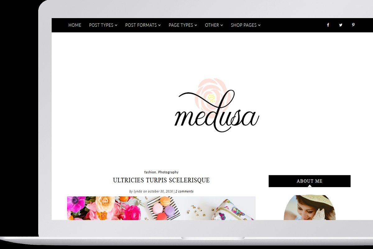 Medusa - Feminine WordPress Theme