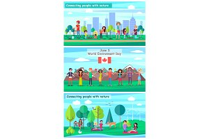 June 5 World Environment Day Promotional Posters