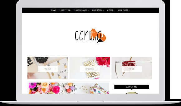 New Carina WordPress Theme