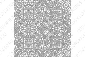 Vintage tile design pattern