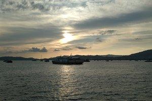 Sunset in Langkawi Island