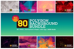 80 Polygon Background | 70% OFF