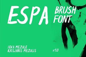 Espa Brush Font