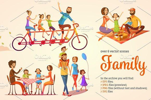 Family Cartoon Pack