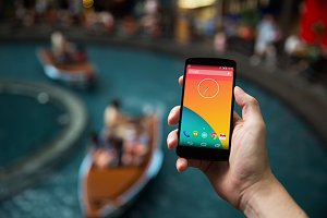 Nexus5 template, River Boat (L)