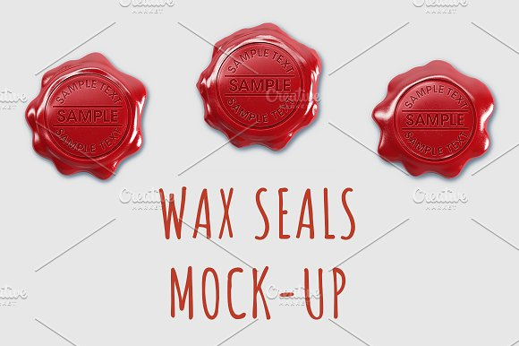 Download Wax Seals Mock-up