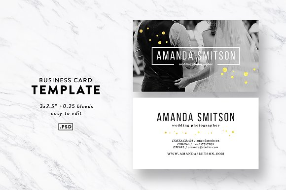 Photography business card template business card templates photography business card template business cards fbccfo Choice Image