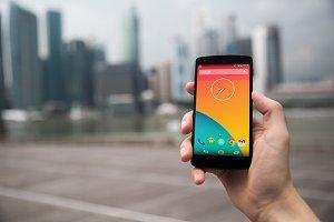 Nexus5 template, SG (S)