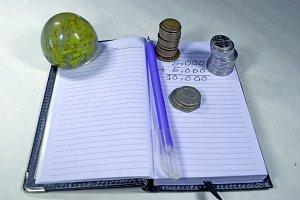 Finances planning concept