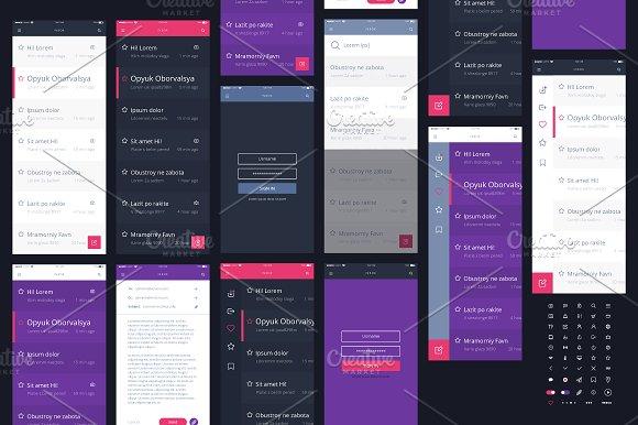 Mail App Kit For Mobile